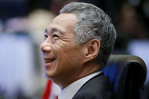 Prime Minister Lee Hsien Loong at the 27th Association of Southeast Asian Nations (ASEAN) summit in Kuala Lumpur, Malaysia, on Nov 21, 2015.