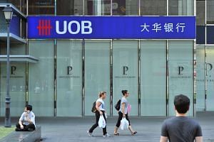 UOB has a total exposure of S$12 billion to the oil and gas sector.