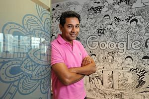 Google's Mr Sengupta says Pie fitted the Internet giant's plans for an engineering team in Singapore as its staff
