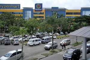 Megamall Batam Centre, located opposite the International Ferry Port.