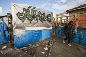 The French government has moved in to dismantle parts of a refugee camp in Calais known as the Jungle. There are an estimated 3,700 migrants living in the camp.
