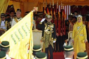 Malaysia's King called on Members of Parliament to end politicking for
