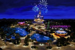 Shanghai Disneyland is set to open on June 16, 2016.