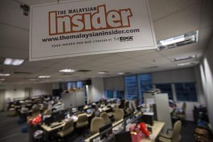 Malaysian Insider is one of many Malaysian news sites that have since closed down.