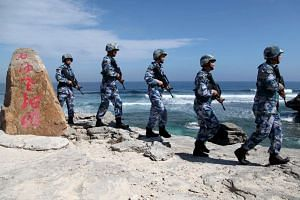China has set up a tsunami alert in the South China Sea.