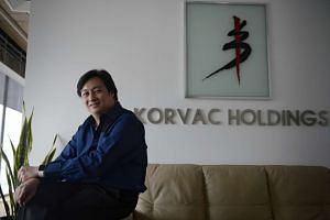 CEO of Korvac Holdings Jeremy Tan pictured on March 16, 2016.