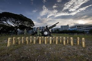 The 21 shell casings from the gun salute will be given to individuals and organisations closely associated with the late Mr Lee Kuan Yew.