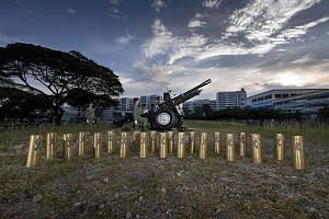 Artillery shell casings from the gun salute at Mr Lee Kuan Yew's funeral were given to 21 individuals and organisations.