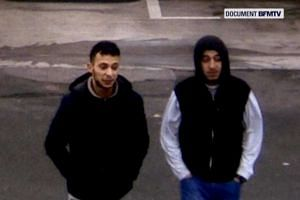 Abdeslam and suspected accomplice Hamza Attou are seen at a petrol station on a motorway between Paris and Brussels in November 2015.