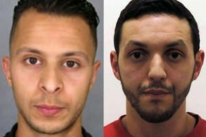 After the arrest of Abdeslam (left), two suspects are on the run - Mohamed Abrini (right) and an unidentified male.