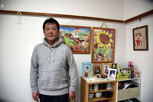 Having started a new life with his family outside Fukushima prefecture, Mr Hiroshi Ueno has no intention of returning.
