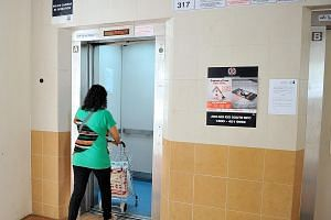 The BCA said Ang Mo Kio Town Council's lift contractor has completed the
