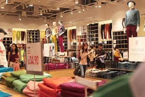 The Uniqlo store in Suntec City. Announcement of the brand's expansion highlights the big plans the company has for its South-east Asian markets.