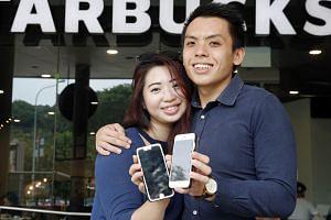 Ms Tricia Kiang and Mr Matthew Teo met on dating app Paktor.