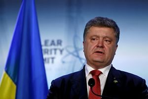 Radical Party leader Oleg Lyashko plans to launch impeachment proceedings against Ukrainian President Petro Poroshenko (pictured) after the Panama Papers leak.