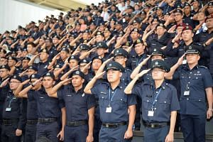 The Singapore Police Force will be moving away from its current rank structure, which has separate schemes for junior and senior officers.