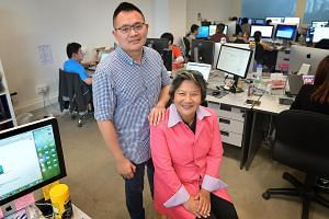 Ms Chew set up FastFast app with Mr Ng with about $250,000. It handles 50 to 100 deliveries a day, from documents to perishables.