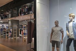 British brand New Look (far left) and French menswear chain Celio will close in the second half of the year, amid competition from e-commerce, weak consumer sentiment and rising business costs in the retail scene.