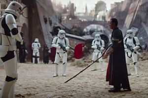 The first trailer for the Star Wars spin-off Rogue One: A Star Wars Story made its debut on April 7, featuring Hong Kong actor Donnie Yen (right).