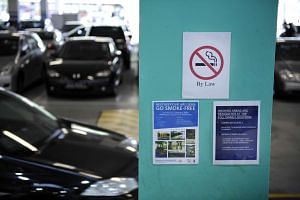 The Government's long-term goal is to snuff out smoking in all public areas, Ms Amy Khor said.