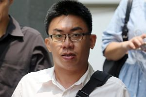Chia Choon Kiat was charged in court on Tuesday (April 12) with three charges of communicating an electronic record containing an incitement to violence.