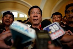 Philippine mayor Rodrigo Duterte issued a statement saying he regretted the remark about an Australian woman who was raped and killed in a prison riot in 1989.