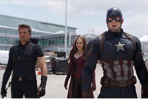 Still from the blockbuster Captain America: Civil War.
