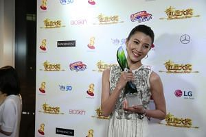 Jeanette Aw finally clinched the Best Actress Award at the Star Awards on Sunday (April 24).