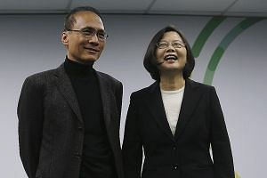 Over the past weeks, Mr Lin, seen here with President-elect Tsai Ing-wen, unveiled his 36 Cabinet members in batches. In response to criticisms over his picks, Mr Lin stressed that what matters most is capability.