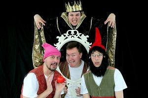 Canadian group DuffleBag Theatre will perform Snow White for the ACT 3i Festival for Children.
