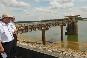 Malaysia's water services chief Mohd Ridhuan says water cuts in Johor Baru and Pasir Gudang are highly possible if the situation at Sungai Layang dam does not improve.