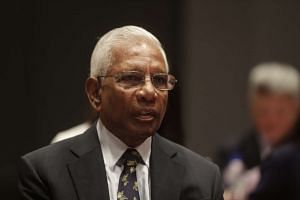 Mr Dhanabalan at the fourth and final constitutional commission public hearing on May 6.