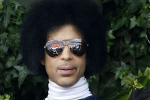 Prince (above, in 2014) also had a dangerously low red blood cell count, indicating he had been ill, reports say.
