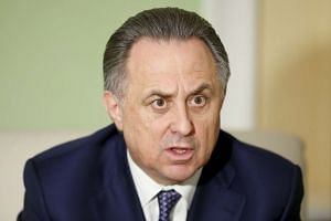 Russian Sports Minister Vitaly Mutko shrugged off claims that four Russian gold medallists at the 2014 Sochi Winter Olympics were drug cheats.