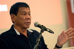 Philippine presidential favourite Rodrigo Duterte.