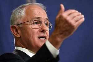 Australia's Prime Minister Malcolm Turnbull speaks at a press conference in Sydney, on May 6, 2016.