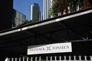 The building where Mossack Fonseca law firm offices are in Panama City.
