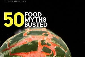 In 50 Food Myths Busted, experts address common misconceptions and beliefs about food.