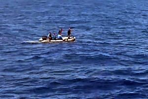 Search teams looking for debris in the sea after the EgyptAir Airbus A320 crashed in the Mediterranean.