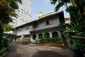 The 25,741 square foot freehold site, located at 9 Cuscaden Road, has been bought by Shun Tak Holdings.