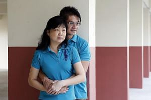 Mr Ng, a taxi driver, and Ms Chua, a part-time cashier, have applied for a flat and plan to marry in the next two years.