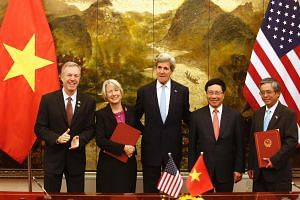 The US and Vietnam have signed an agreement to allow the US Peace Corps to work in Vietnam.
