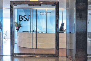 BSI Bank's main office at Suntec City Tower One.