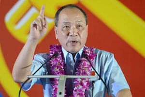 Workers' Party chief Low Thia Khiang.