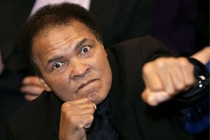 US boxing legend Muhammad Ali in December 2005.