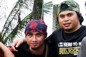 Trainers Valerian Joannes (left), 27, and Ricky Masirin, 28, died while guiding the pupils of TKPS on Mount Kinabalu during the earthquake last year.
