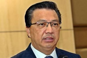 Malaysian Transport Minister Liow Tiong Lai.