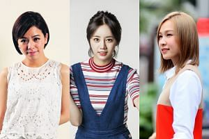 Girl-next-door actresses (from left) Vivian Sung, Lee Hyeri and Ya Hui.