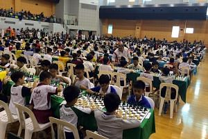 In a sign of a chess revival in Singapore, 1,087 schoolchildren took part in the National Schools Individual Chess Championships in March, a 20 per cent increase from last year.