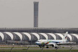 Bangkok's Suvarnabhumi International Airport, on the eastern outskirts of Bangkok, in a file photo.